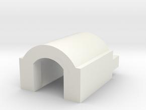 TM USP AEP c lock for AEG barrels in White Natural Versatile Plastic