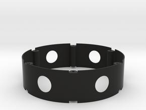 Inner ring for rock Magnet V1.0 in Black Natural Versatile Plastic