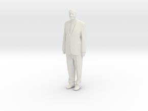 Printle F Helmut Kohl - 1/18 - wob in White Natural Versatile Plastic