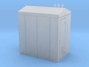N Scale Relay Shed 2 in Smooth Fine Detail Plastic