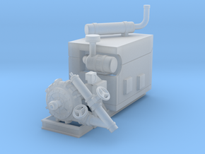 1/50th Diesel Electric Generator Booster Pump in Smooth Fine Detail Plastic