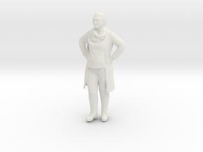 Printle F Angela Merkel - 1/22.5 - wob in White Natural Versatile Plastic