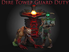 DireTowerGuardDuty: Lifestealer in Full Color Sandstone