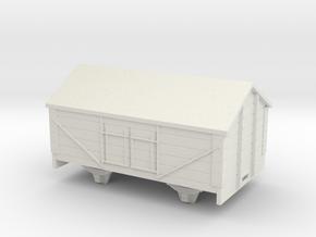 1:32/1:35 salt wagon in White Natural Versatile Plastic