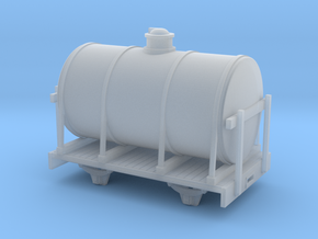 1:32/1:35 tank wagon long in Smooth Fine Detail Plastic