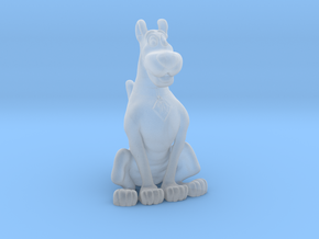 Printle Thing Scooby Doo - 1/87 - wob in Frosted Ultra Detail