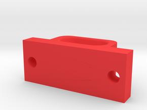 Fairlead for Servo Winch - Bumper Mounted in Red Processed Versatile Plastic