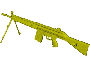 1/10 scale Heckler & Koch G-3A3 rifle B x 1 in Smooth Fine Detail Plastic