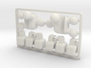 MechaniClaw Hands for ModiBot  in White Natural Versatile Plastic