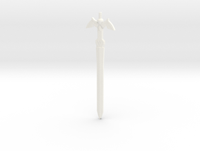 The Master Sword in White Processed Versatile Plastic