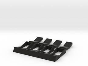 Darth Vader functional Rocker switches in Black Natural Versatile Plastic