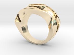 david's logo ring in 14K Yellow Gold: 8 / 56.75