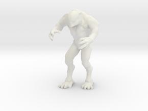 Hell Knight - Doom - V2 in White Natural Versatile Plastic