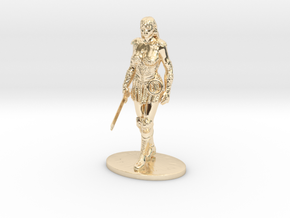 Xena Miniature in 14K Yellow Gold: 1:60.96
