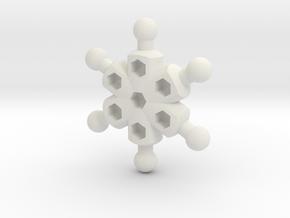 Radial Chest for ModiBot in White Natural Versatile Plastic