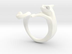 Wiskers GATO in White Processed Versatile Plastic: 8 / 56.75