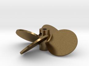 """2.00"""" - BBP 40º RH in Natural Bronze"""