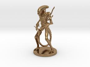 Xenomorph Miniature in Natural Brass: 1:60.96