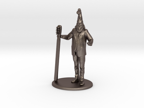 Vermin Supreme Miniature in Polished Bronzed Silver Steel: 1:60.96
