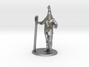 Vermin Supreme Miniature in Natural Silver: 1:60.96
