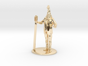 Vermin Supreme Miniature in 14k Gold Plated: 1:60.96