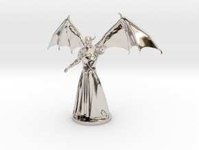Venger Miniature in Rhodium Plated Brass: 1:60.96