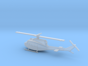 1/350 Scale UH-1D Model in Smooth Fine Detail Plastic