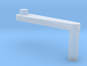DShK Tank Mount 1:35 Scale  Handle in Smooth Fine Detail Plastic