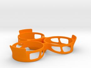 WEIGHT20 COUNTERTOP BASE in Orange Processed Versatile Plastic