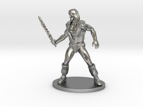 Thundarr the Barbarian Miniature in Natural Silver: 1:55