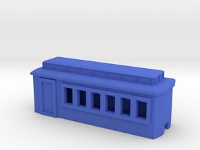 Tin Hare Coach (6) in Blue Processed Versatile Plastic