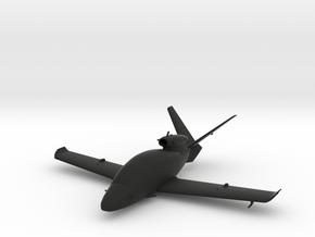 Cirrus Vision SF50 in Black Natural Versatile Plastic: 1:64 - S
