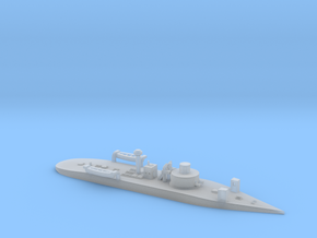 1/1200th scale SMS Leitha (1872) in Smooth Fine Detail Plastic