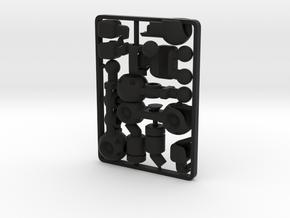 SpyBorg Accessory Kit for ModiBot in Black Premium Strong & Flexible