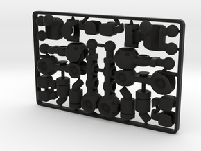 FullBorg Augmentation Kit for ModiBot in Black Premium Strong & Flexible