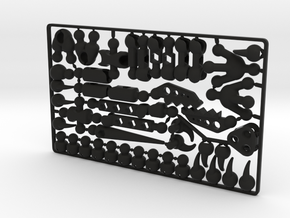 ModiRaptor DIY Dino Kit in Black Premium Strong & Flexible