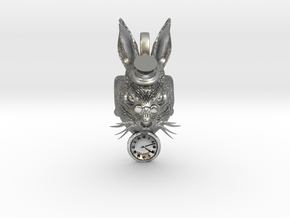 Rabbit in Natural Silver