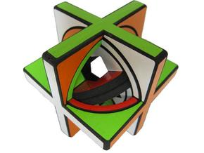 Concentric Cube in White Strong & Flexible