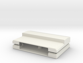 TI 99/4a Cartridge (1x313) in White Natural Versatile Plastic