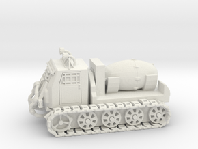 Nuke Carrier - Variation B  in White Natural Versatile Plastic