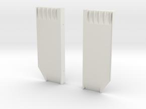 sidefloor in White Natural Versatile Plastic