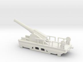 canon de 240 sur affut truc nle 1903 1/144  in White Natural Versatile Plastic