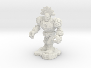 Eztlachtli-War Of The Ravaged Board Game Mini in White Natural Versatile Plastic: Small