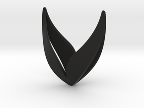 sWINGS Happy in Black Natural Versatile Plastic