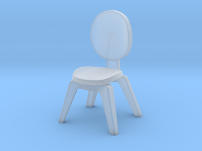 1:22.5 scaled chair 1 in Smooth Fine Detail Plastic
