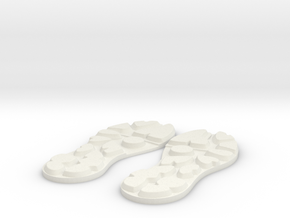 Bermejo Soles v1 in White Natural Versatile Plastic