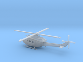 1/87 Scale UH-1Y Model  in Smooth Fine Detail Plastic