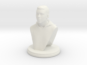 Printle F Dani Alves - 1/30 in White Natural Versatile Plastic