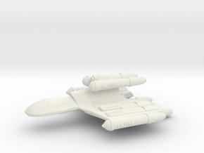 3788 Scale Romulan MegaHawk Dreadnought MGL in White Natural Versatile Plastic