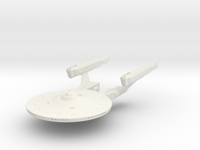 Federation Phobos Class Destoryer 1/1400 scale  in White Natural Versatile Plastic